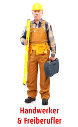 zu den Leistungen für Handwerker & Freiberufler